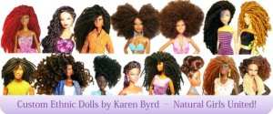 Custom Ethnic Dolls by Karen Byrd