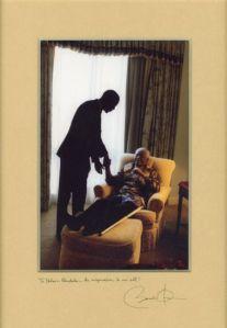 Mandela and President Obama